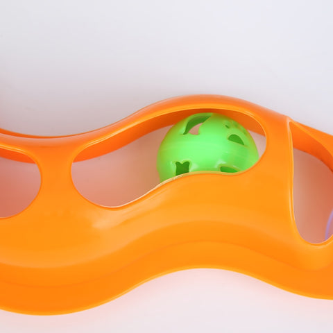 WINDOW MOUNTED TRACK BALL TOY FOR CATS - Store Zone-Online Shopping Store Melbourne Australia