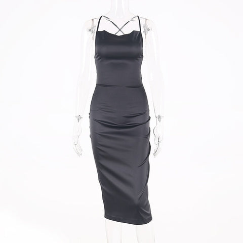 Women long sleeveless backless elegant party outfits - Store Zone-Online Shopping Store Melbourne Australia