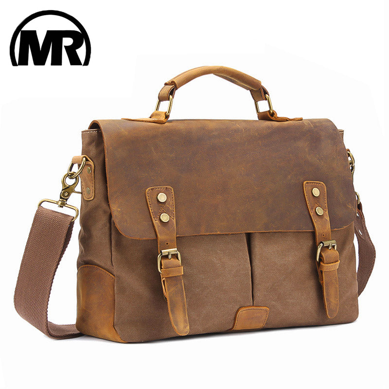Men & Women Leather Messenger Travel Bag - Store Zone-Online Shopping Store Melbourne Australia
