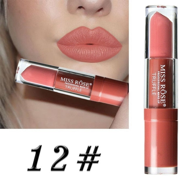 24 Color Liquid Lipstick Waterproof Long-lasting Non-stick Cup Lip Gloss - Store Zone-Online Shopping Store Melbourne Australia