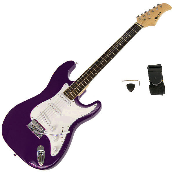Karrera 39in Electric Guitar - Purple