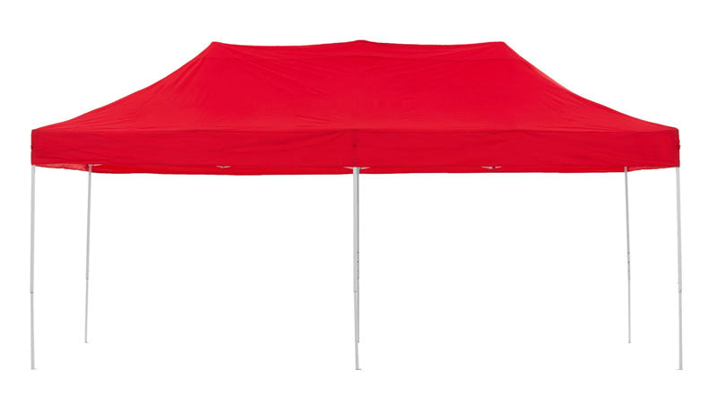 Gazebo Tent Marquee 3x6m PopUp Outdoor Wallaroo Red