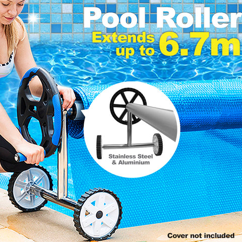Adjustable Swimming Pool Roller - 6.7m