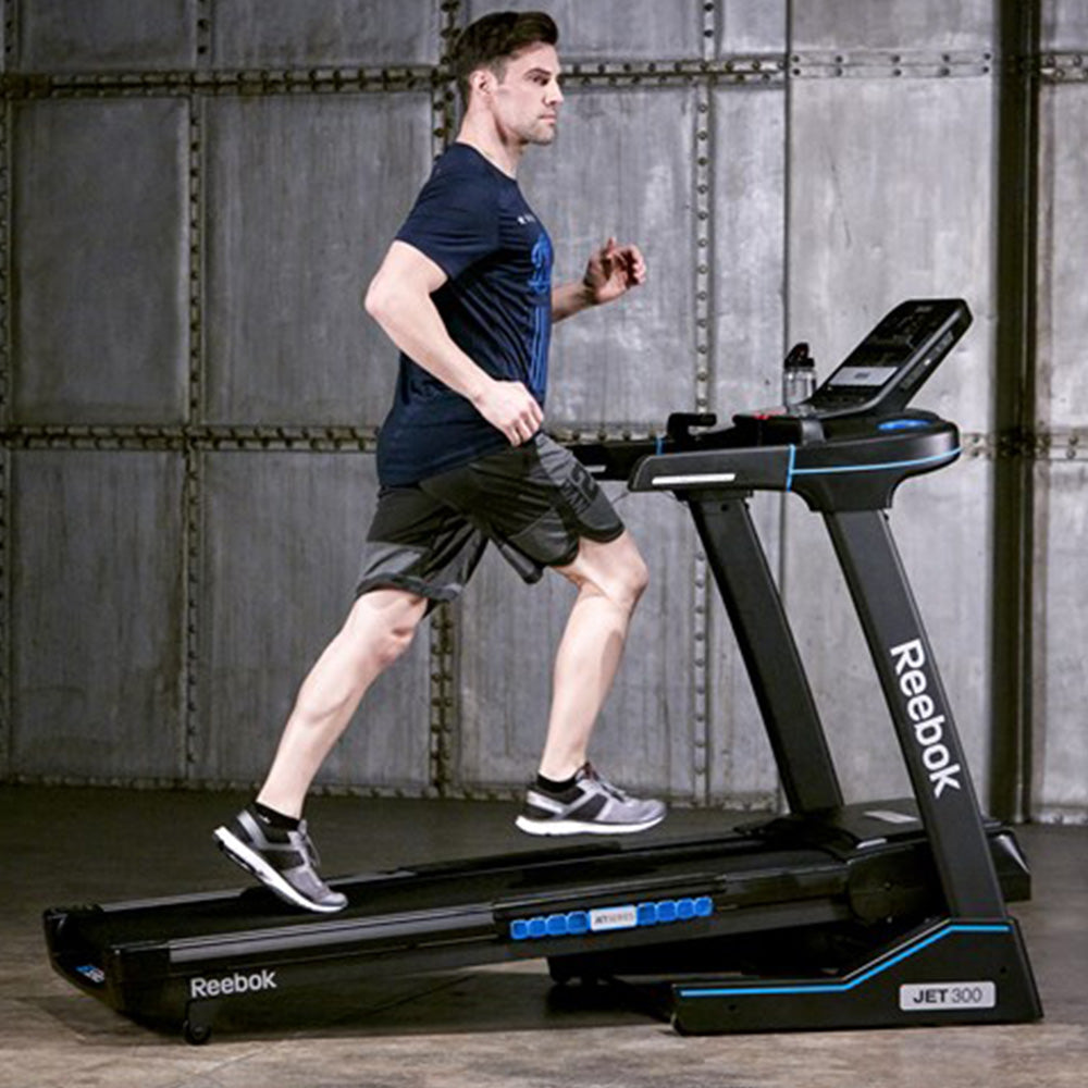 Reebok Jet 300 Series Treadmill with Bluetooth Home Gym Equipment