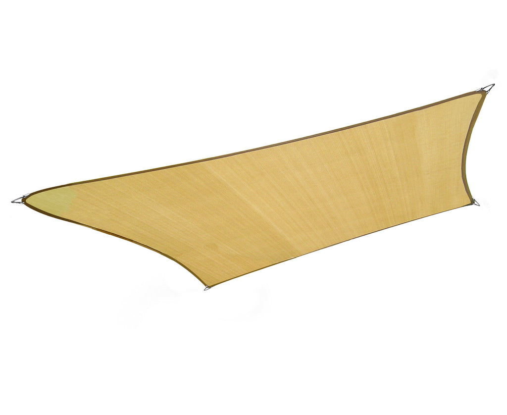 Wallaroo Rectangular Shade Sail 7m x 5m - Sand