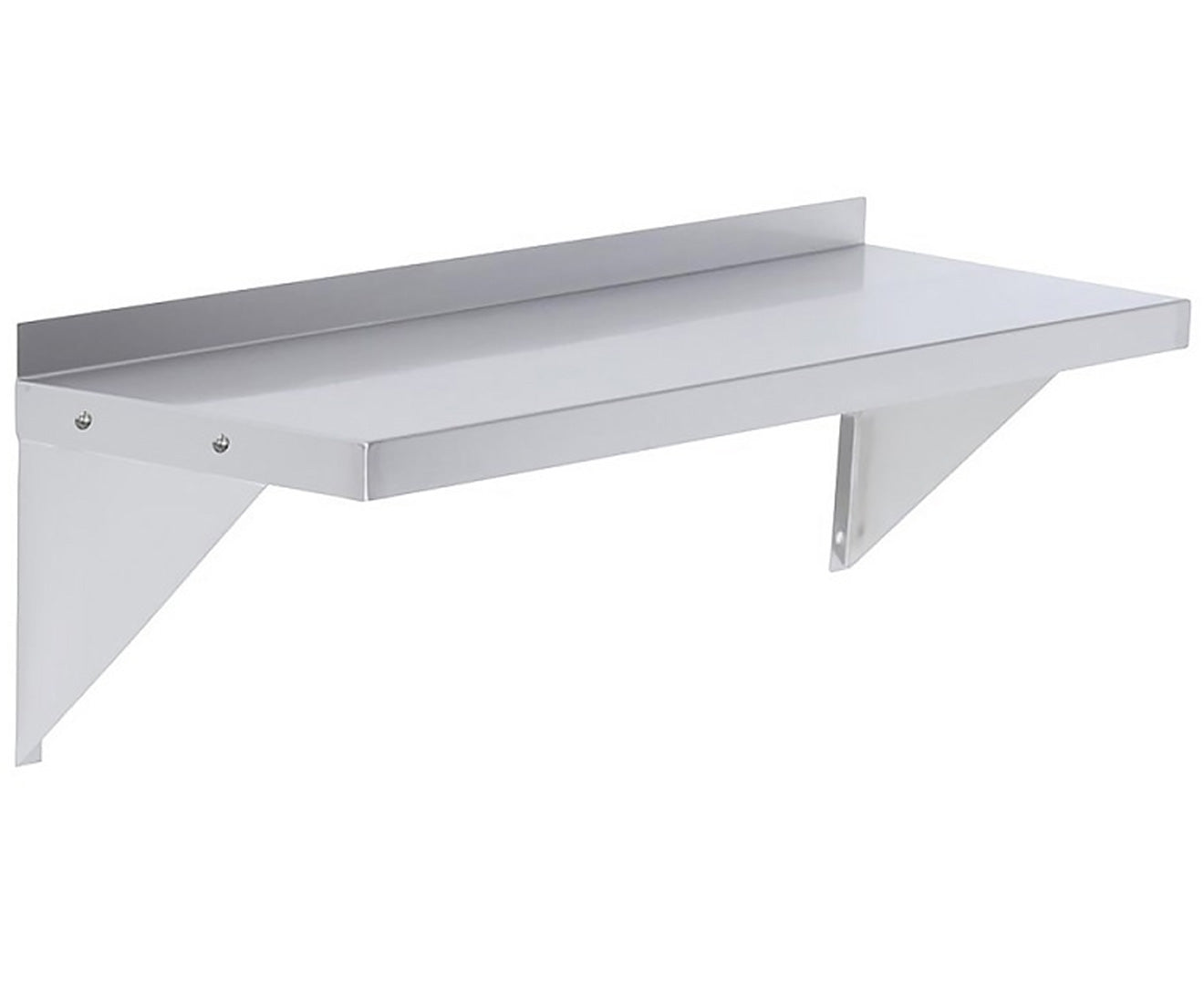 610x356mm Stainless Wall Mounted Shelf