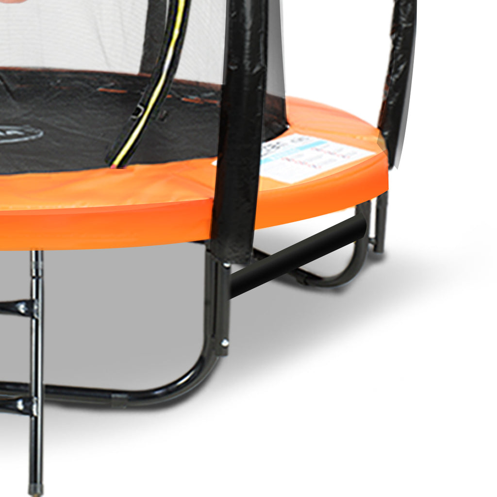 Kahuna 8ft Springless Trampoline with Basketball Set