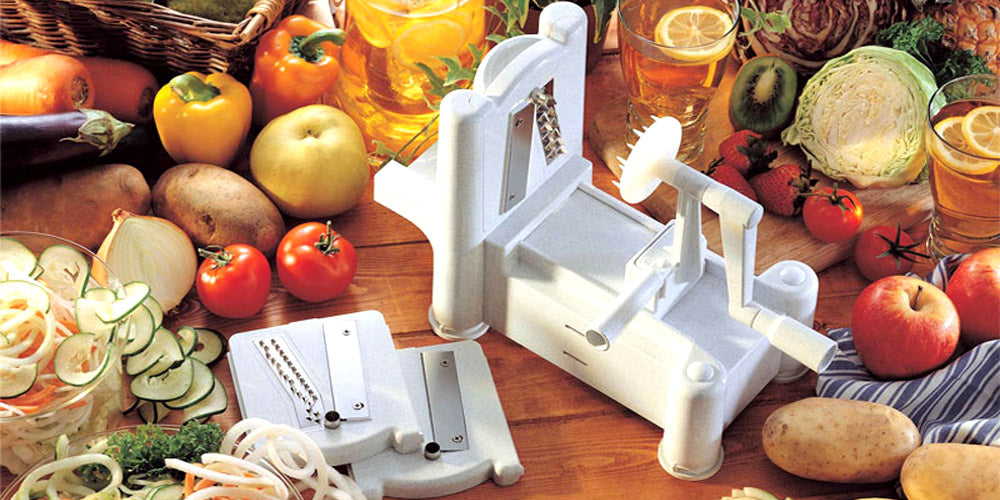 3-in-1 vegetable turning slicer