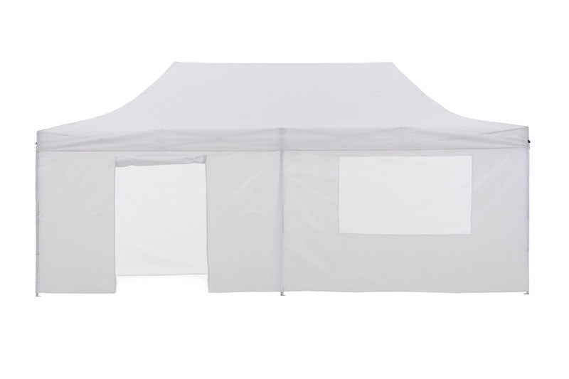 Gazebo Tent Marquee 3x6m PopUp Outdoor Wallaroo White