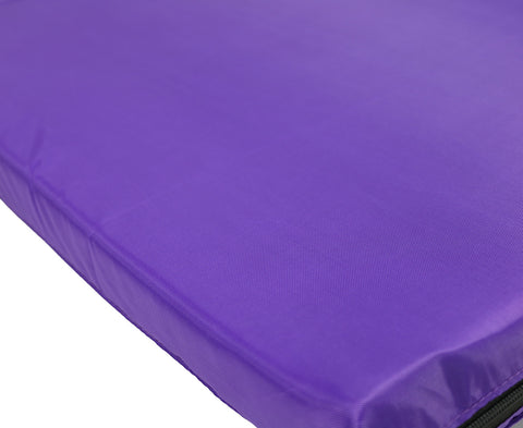 Powertrain Yoga Exercise Tri-fold Mat 180x60x5cm - Purple