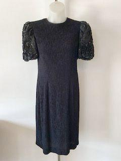 Leslie Fay Size X-Large Black Dress - Wear it Well Boutique