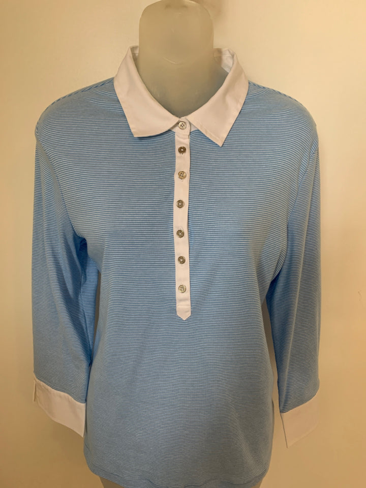 Ralph Lauren Size Large Powder Blue Top