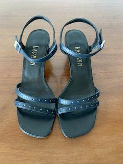 Ralph Lauren Size 6 Navy Shoes - Wear it Well Boutique