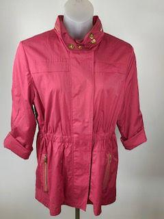 Size Large Rose Coat - Wear it Well Boutique