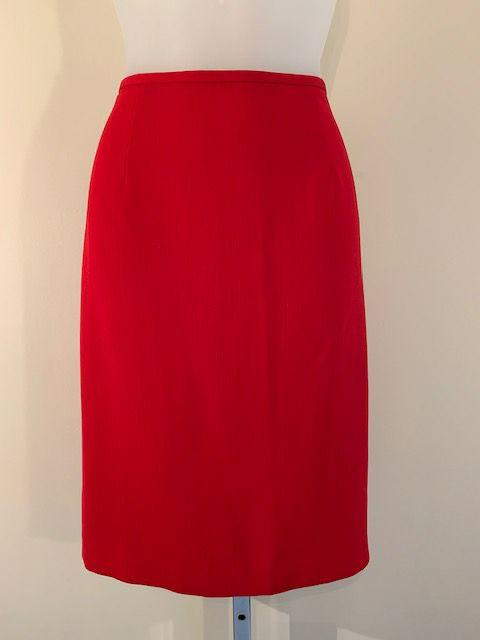 Size Medium Red Skirt - Wear it Well Boutique