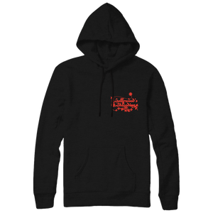 Hollywood's Bleeding Black Hoodie