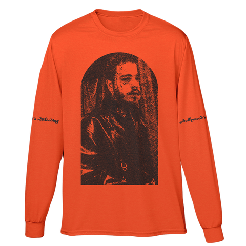Hollywood's Bleeding Portrait Longsleeve-Post Malone
