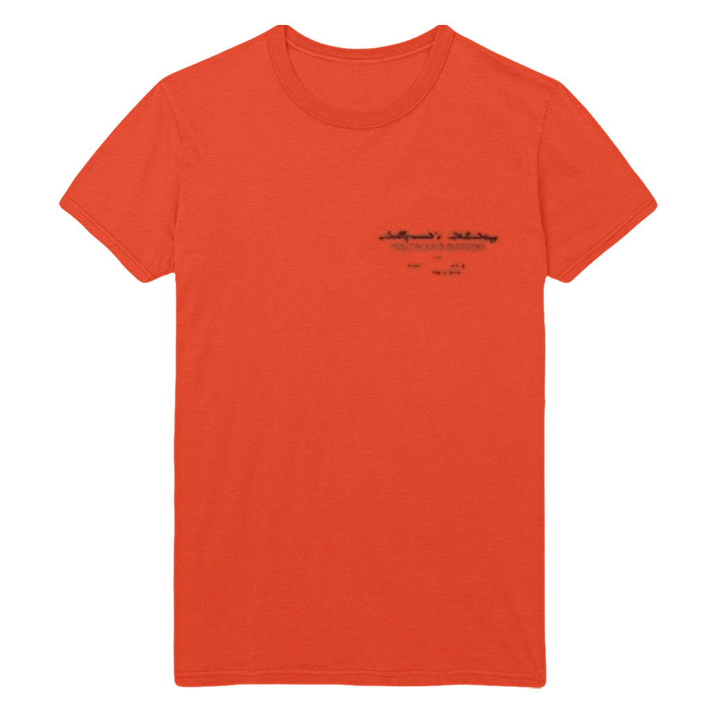 Sword Tour Tee - Orange