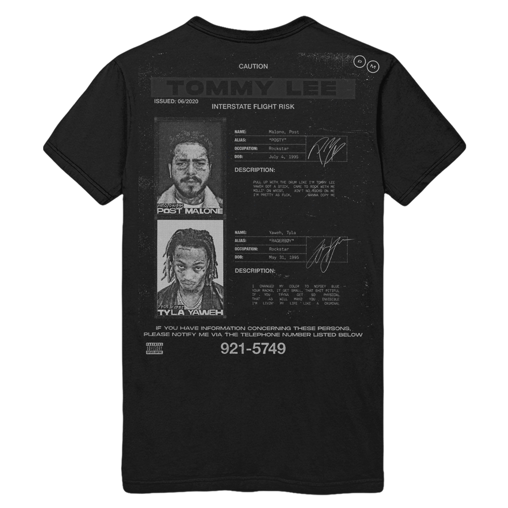 Flight Risk Cover Tee - Black