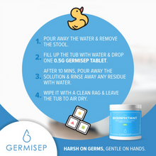 Load image into Gallery viewer, Germisep Disinfectant Tablets (30 Tablets)