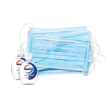 Load image into Gallery viewer, Bundle C: Surgical Mask (50 pcs) x 2 + Hand Sanitiser (80ml) x 2