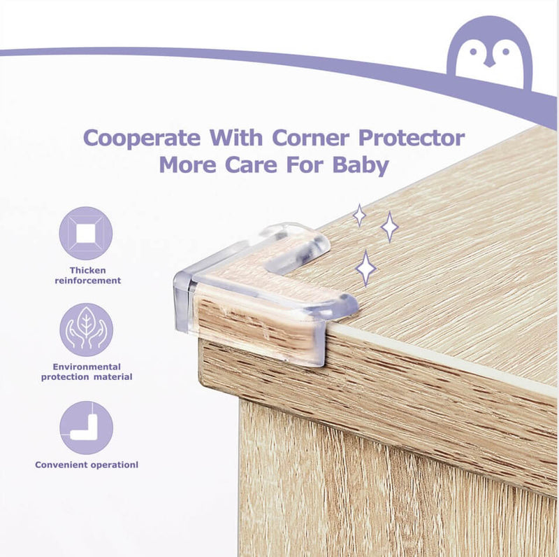 Momcozy Baby Proofing Edge Protectors Corner Guards