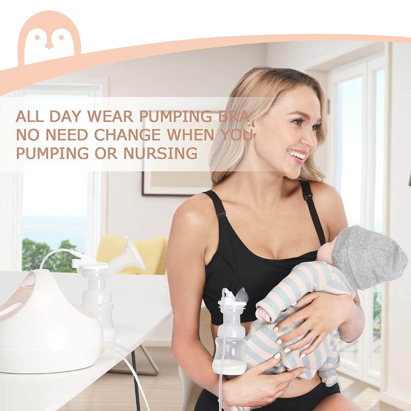Hands Free Pumping and Nursing Bra