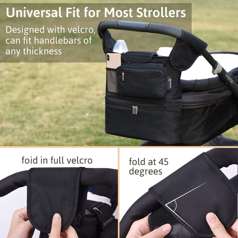 Momcozy Detachable Insulated Stroller Organizer