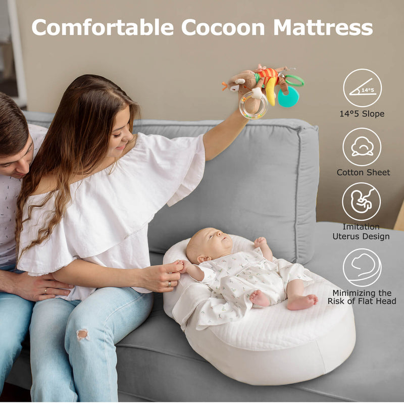 Baby Cocoon Sleep Nest Bed