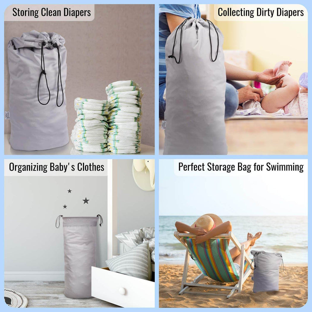 Momcozy ® 3 Pack Reusable Diaper Pail Liner