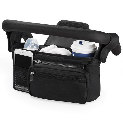 Momcozy Stroller Organizer with Cup Holders