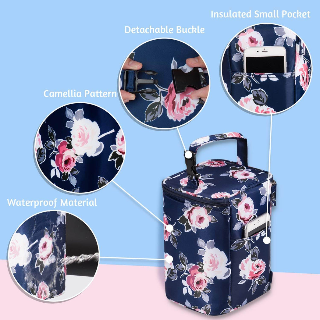 Momcozy Insulated Breastmilk Cooler and Baby Bottle Bag