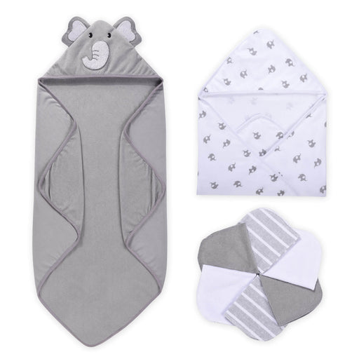 Momcozy ® 8-Piece Baby Hooded Towel & Washcloths Set
