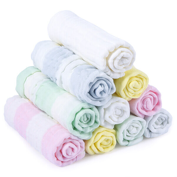 "Momcozy 10 Pack 11.8"" x 11.8"" Baby Washcloths"