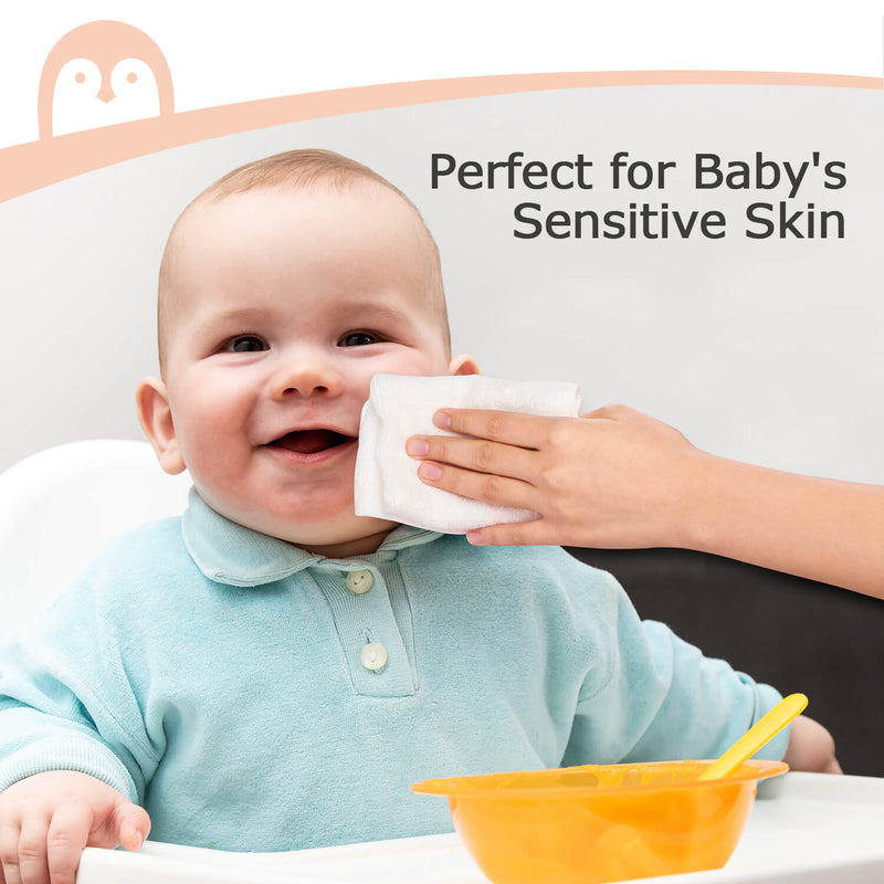 Momcozy 8-Pack Bamboo Baby Washcloth