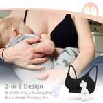 Momcozy Hands-Free Nursing And Pumping Bra