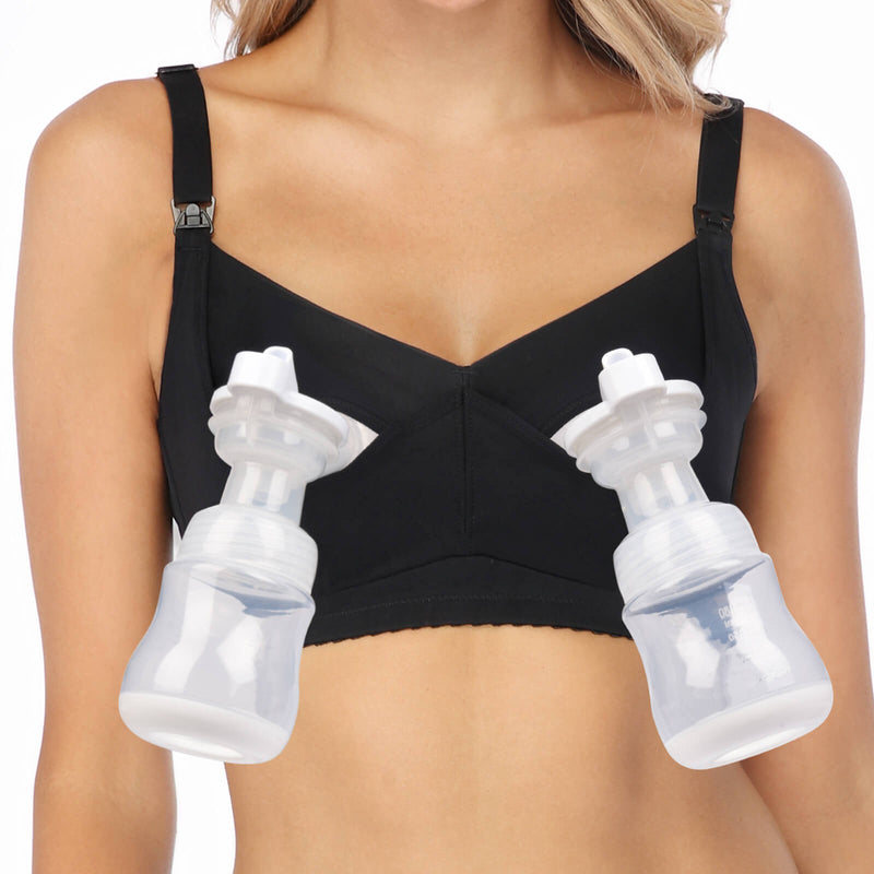 Hands Free Nursing And Pumping Bra