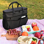 Momcozy Insulated Stroller Organizer Bag- Black