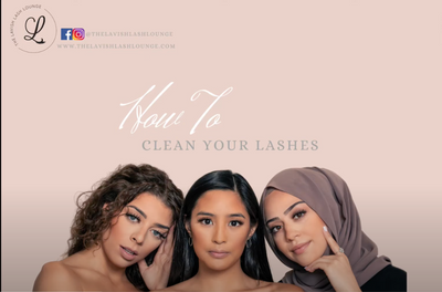 How to clean your Lavish Lashes