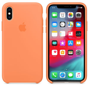 Coque iPhone Orange clair