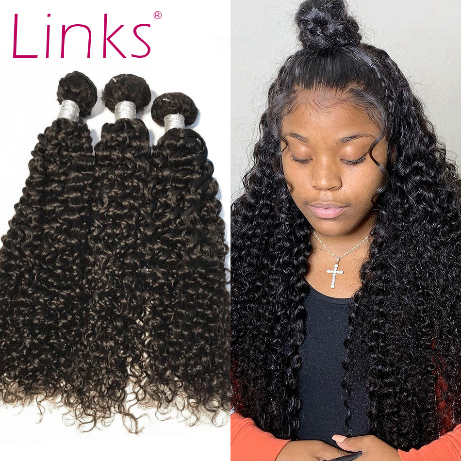 Mongolian Kinky Curly Hair Bundles