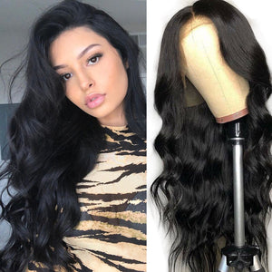 13X6 Lace Front Wig Body Wave Human Hair Wig | Pre Plucked