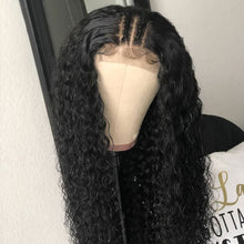 Load image into Gallery viewer, Brazilian Closure Curly Wig | Pre Plucked With Baby Hair | 4x4 Closure
