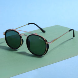 ROADSTER RETRO SQUARE SIDE RUBBER SUNGLASSES