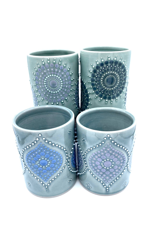 Large Porcelain Cups