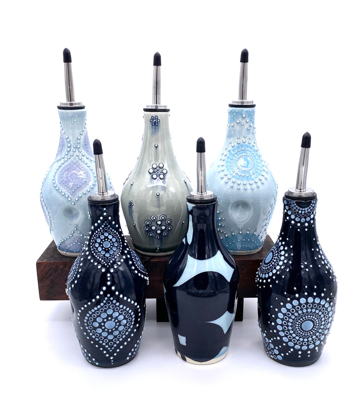 Porcelain Oil Bottles