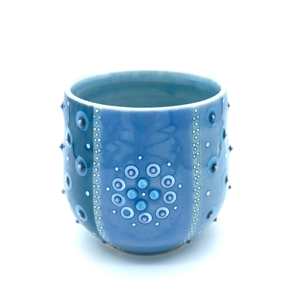 Polka Dot Striped Mandala Mug # 3