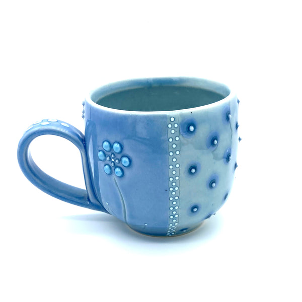 Polka Dot Flower Mug # 1