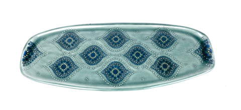 Ogee Blue Celadon / Sage Grey Serving Tray