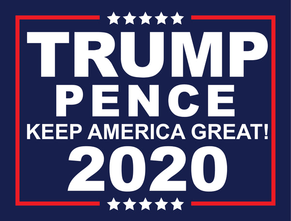 "24"" x 18"" Trump Pence Election Sign"